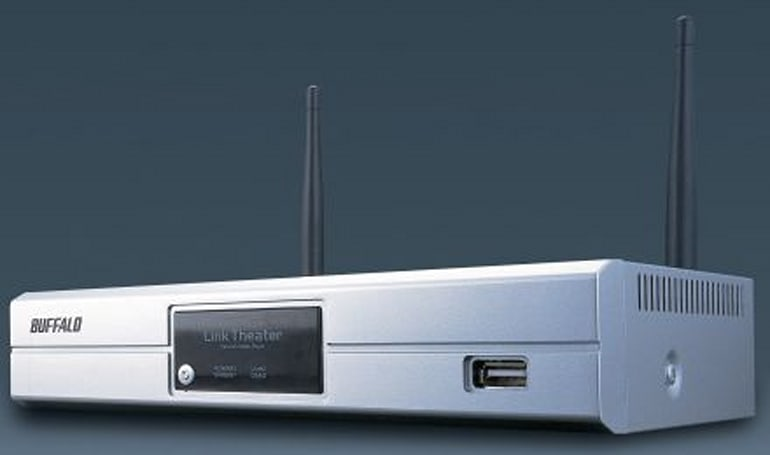 Buffalo intros new Viiv-certified LinkTheater Wireless-A&G Media Player PC-P4LWAG