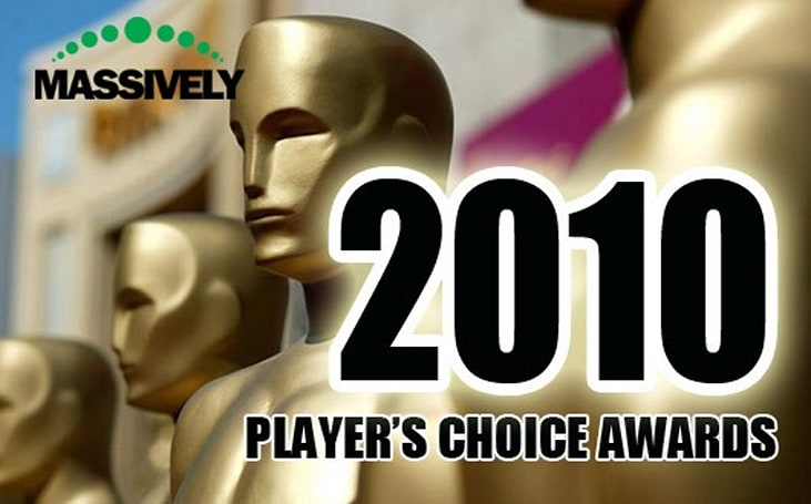 Massively's 2010 Player's Choice Awards
