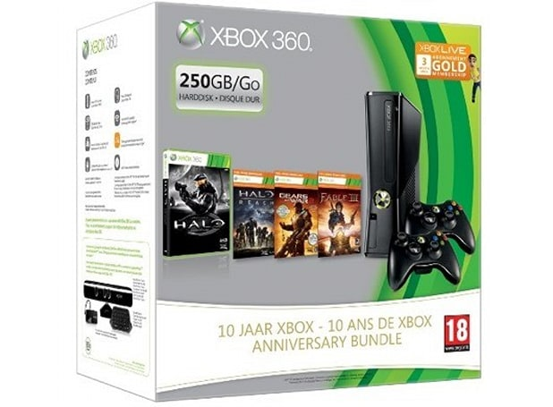 10-year anniversary Xbox 360 bundle found on Amazon France