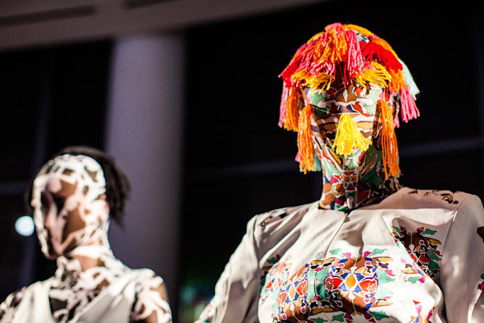 Scenes from Epson's 'Digital Couture' show at New York Fashion Week