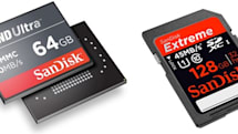 SanDisk unveils 'world's fastest' 128GB SDXC card and new iNAND Ultra embeddable flash storage