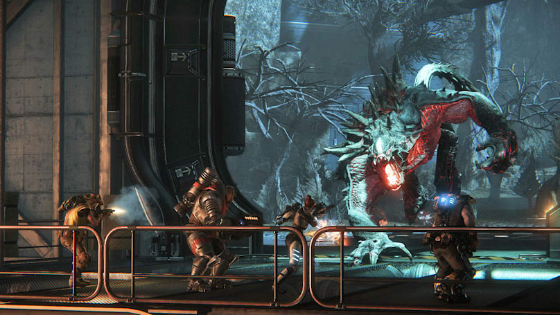 One month after going free, 'Evolve' averages 15,000 players