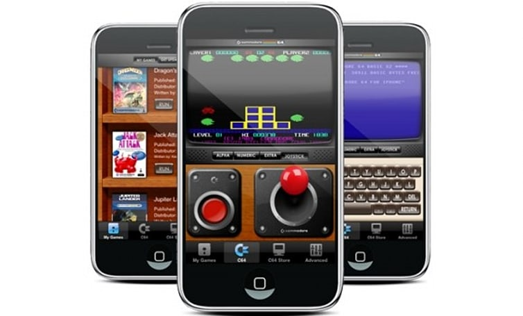 iPhone Commodore 64 emulator back on the App Store