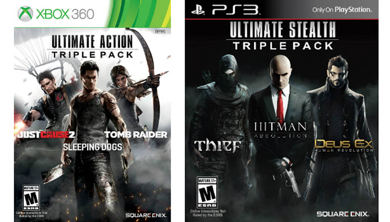 Square Enix triple packs March to the US