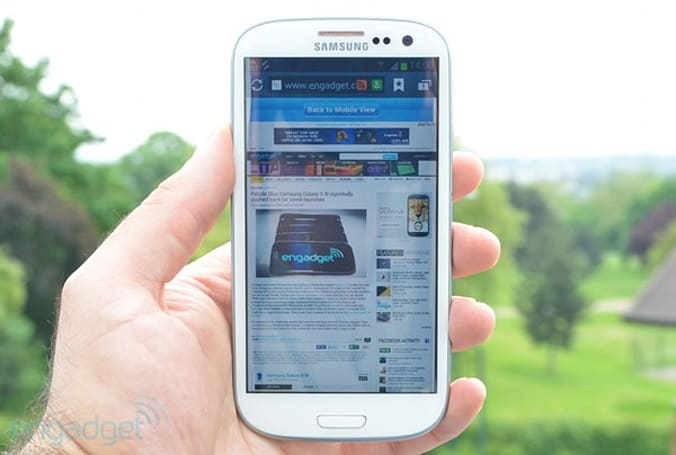 Samsung: Galaxy S III's universal search function 'inadvertently removed', will return to UK models in the next few days