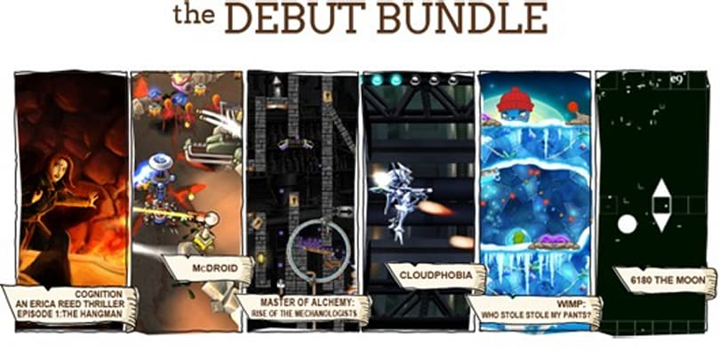 Debut Bundle debuts on Indie Royale with Cognition