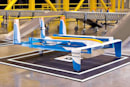 Amazon explores using street lights as delivery drone perches
