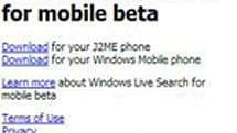 Voice searching coming to Windows Mobile?