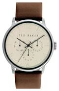 Ted Baker London Leather Strap Watch