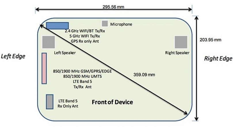 Samsung SM-P905 tablet appears at the FCC, may be an extra-large Galaxy Note