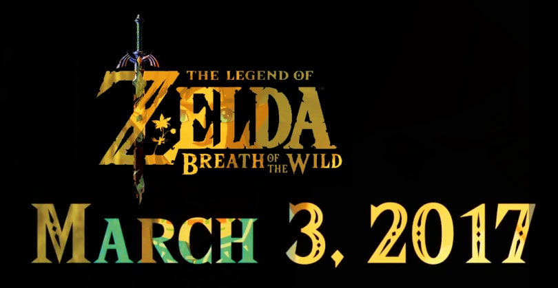 'Legend of Zelda: Breath of the Wild' lands on Switch at launch