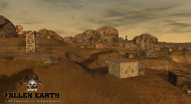 Fallen Earth dev talks progress town layouts and destructible buildings