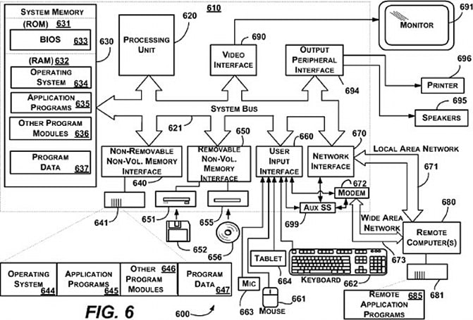 Microsoft patent application points to fast-booting streaming OS