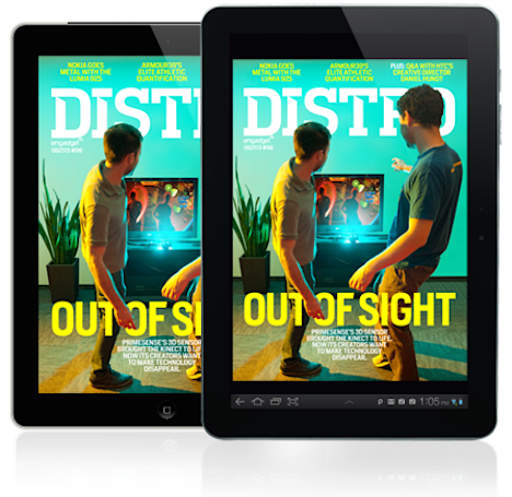 Distro Issue 96: PrimeSense tackles life after Kinect on its quest to make technology disappear