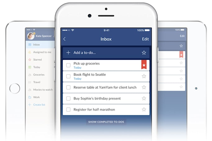 Wunderlist's iOS app uses 3D Touch to increase productivity