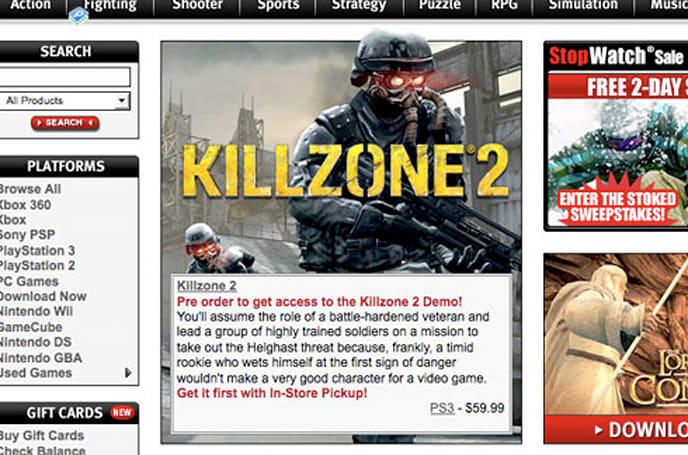 Killzone 2 demo Feb. 26 on PSN; Sony explains Feb. 2 pre-order-only release