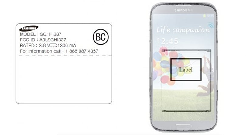 Samsung SGH-I337 hits FCC with AT&T LTE bands, fits the GS 4 profile