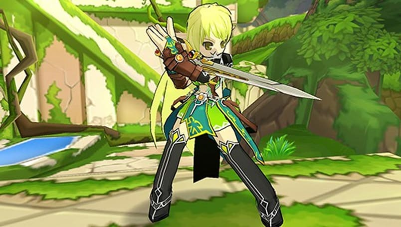 Massively Exclusive: Elsword's Ranger becomes the Night Watcher