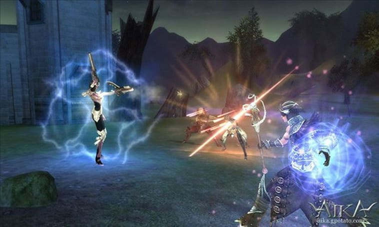 Aika Online adds dueling and offers special holiday events