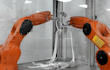 Filigran: Industrie-Roboter können Knoten binden