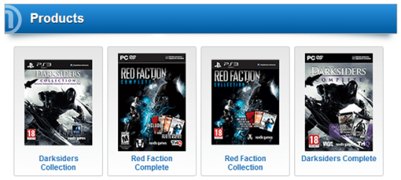 Nordic Games to release Darksiders, Red Faction compilations [update]