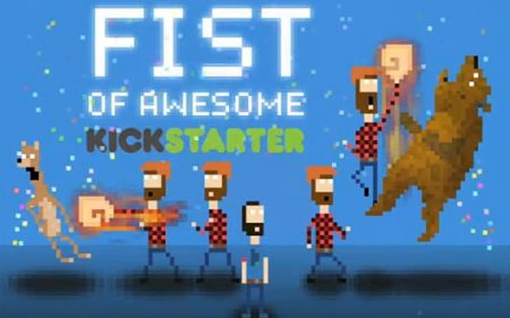 Time-traveling lumberjack bear puncher news: 'Fist of Awesome' hits Kickstarter