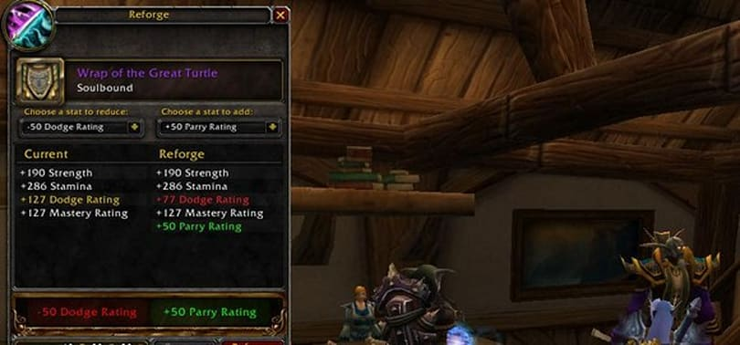 Lichborne: Gemming, reforging, and other gear tweaks for blood death knight tanks