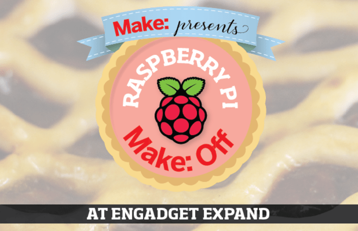 Make presents: Raspberry Pi Make:Off competition at Expand!