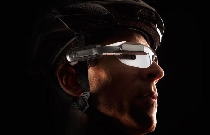 Garmin bike headset warns about traffic behind you