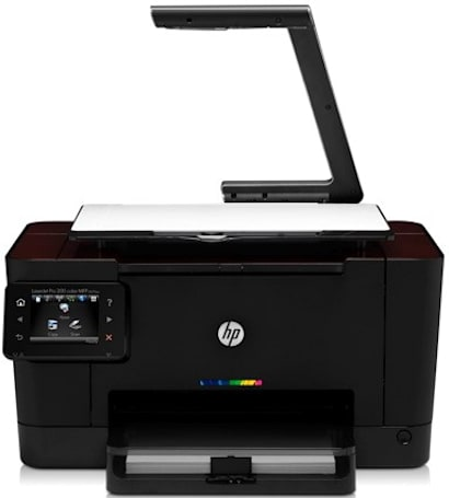 HP TopShot LaserJet Pro M275 scans 3D objects but only prints in 2D (video)