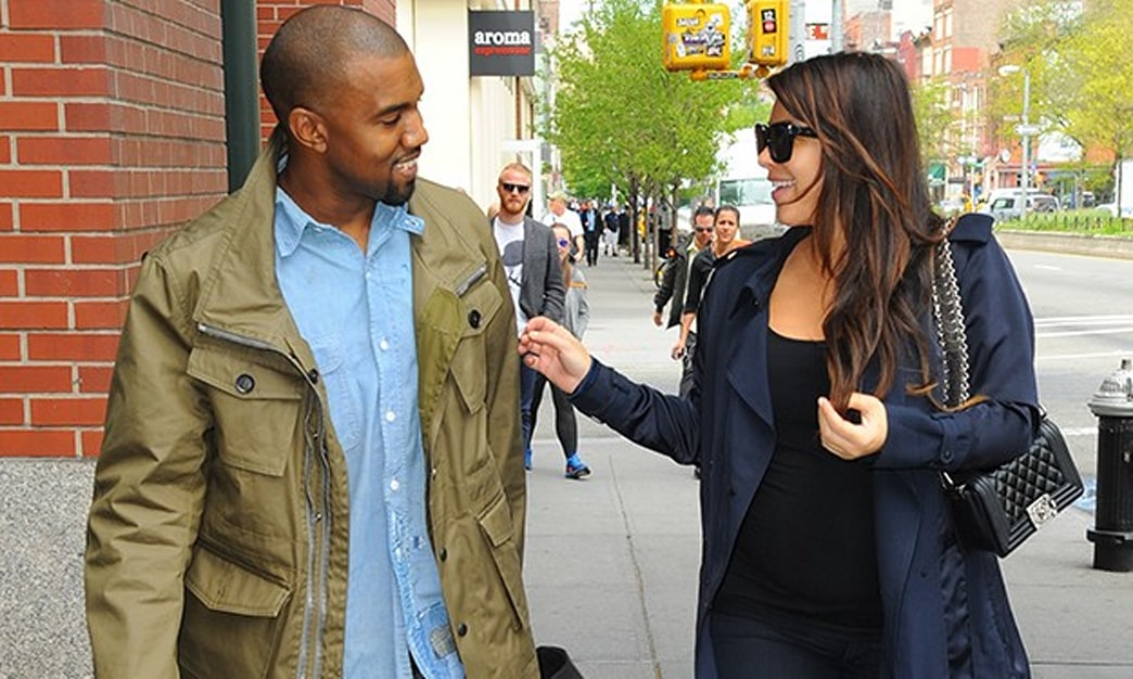 Are Kim and Kanye waiting for a Vogue exclusive to debut North West?