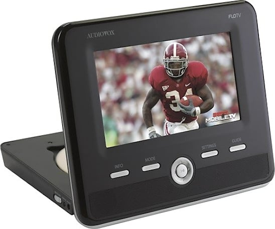 Audiovox rolls out FLO TV-equipped DFL01 portable DVD player