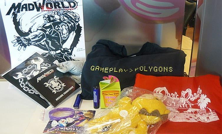 Sega swag up for grabs this Friday (includes MadWorld, NiGHTS stuff)