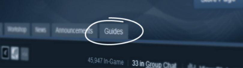 Steam launches 'Game Guides' as part of Steam Community beta