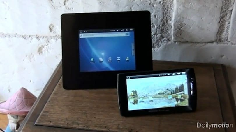 Archos 8 Home Tablet gets unboxed and examined