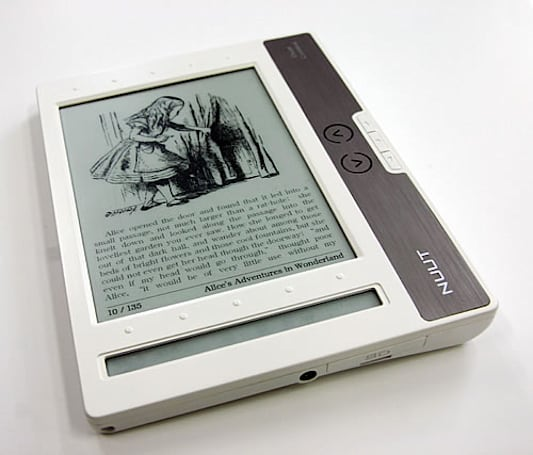 Neolux's NUUT2 trumps the Kindle 2 with PDF support, loses in most other regards