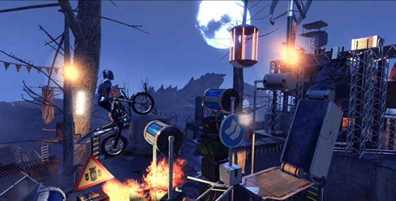 Trials Fusion rides into the rustlands in first DLC pack