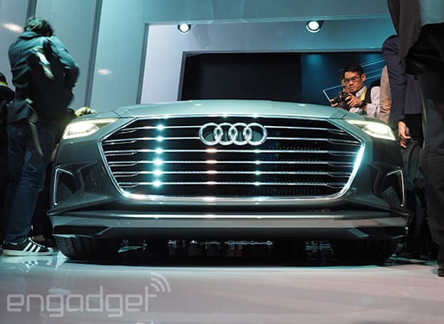 Audi's vision of the future includes watch-controlled cars