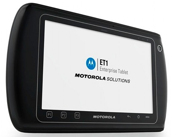 Motorola unveils rugged ET1 Android tablet for enterprise types (video)