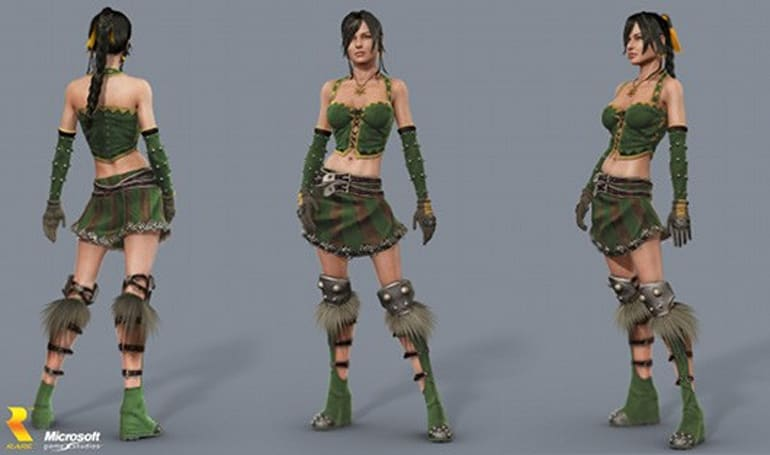 Possible character model from canceled Kameo 2 surfaces