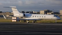 Steve's private jet is back in the air