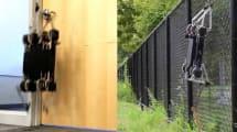 Vierbeiniger Bot steigt Treppen, öffnet Türen, überklettert Zäune