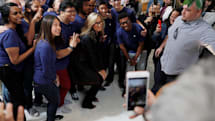 Apple Stores are being targeted by thieves dressed as employees