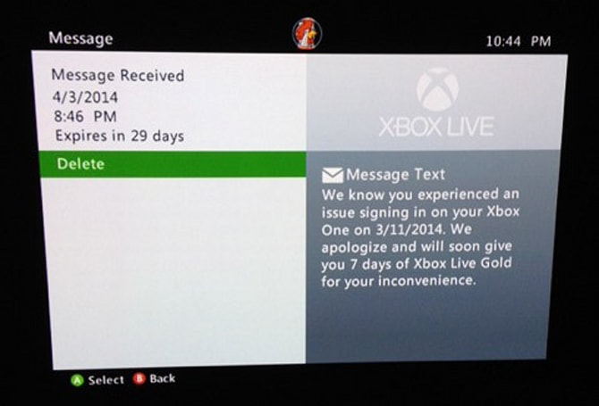 Microsoft crediting players for March Xbox Live outage