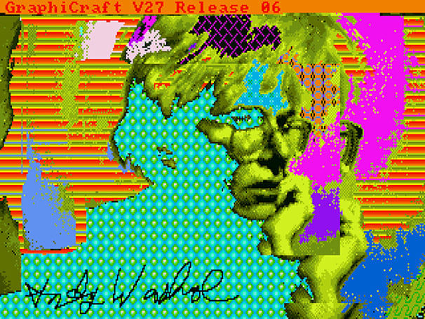 Lost Andy Warhol artworks discovered on Amiga floppies from the '80s