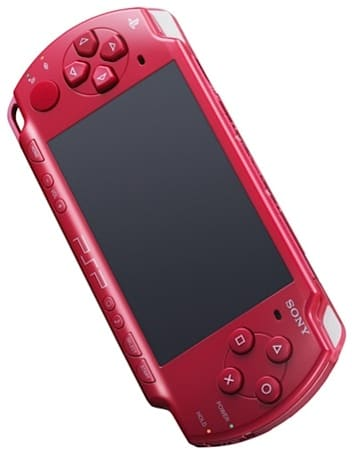 Sony PSP goes Deep Red