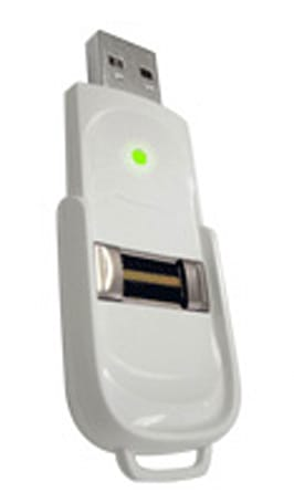 smartSTIK-MD keeps your medical records on a biometric flash drive