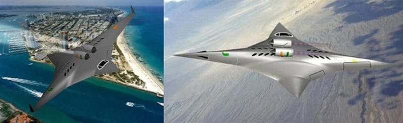 NASA awards $100,000 grant for sideways supersonic plane concept, sonic boom not included