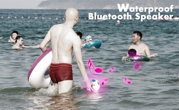 Waterproof Bluetooth Speaker approved by vacationing Billy Corgan
