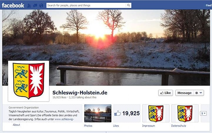 German state of Schleswig-Holstein orders Facebook to allow pseudonyms